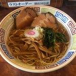 つけ麺目黒屋 - 阿波尾鶏ラーメン830円
