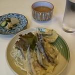 お食事処 南星 - 小鰯天ぷら 320円