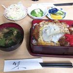 大幸 - 料理写真:煮込みかつ重 ¥600