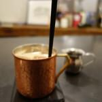 Mole & hosoi coffees - 冷たいカフェオレ