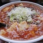 まるしん - マーボ麺(山椒多め)