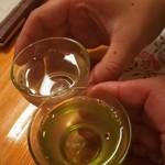 輝鮨 - 新潟のお酒、こんやは、4種類制覇しました。
