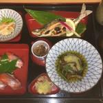食事処 寿 - 姫ます焼きセット (2,200円)