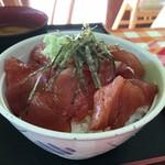 大遠会館 まぐろレストラン - 鉄火丼 800円