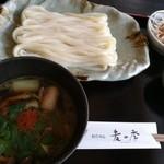 讃岐づくり本格手打ちうどん 麦の季 - 料理写真:蔵王鴨つけうどん 1180円