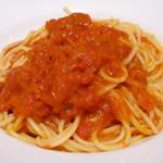 青 AO - 岬のトマトソース スパゲッティ