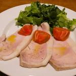 青 AO - 自家製ロースハムのサラダ