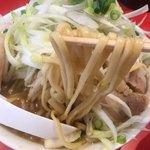 ラーメン 骨々亭 - 麺リフト