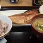 美松 - ホッケ焼定食 1300円