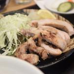 美松 - 豚ロースみそ焼き定食 1250円