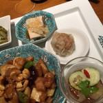 華都飯店 - 本日のプレート料理