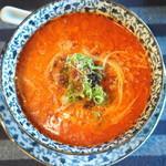 きた川 - 担々麺辛め