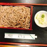 松川屋 そば店 - 料理写真:もりそば