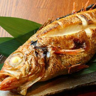 【炭火原始焼き】肉厚な最高級のどぐろを日本一美味しい調理法で
