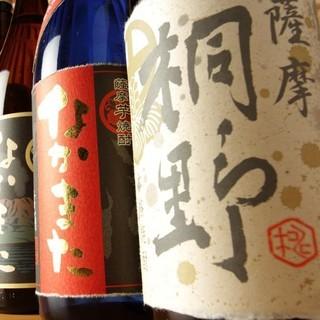 こだわりの焼酎!飲み放題には日本名酒に選ばれたお酒も♪