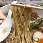 暁 製麺 - 細ストレート麺