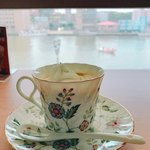 軽食喫茶風車 - 川を眺めながら静かなコーヒータイムは最高でした!
