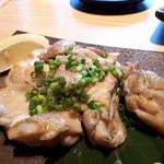 隠れ家個室居酒屋 鶏の久兵衛 - 国産鶏の炙り焼き