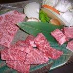 名産飛騨牛焼肉大皿