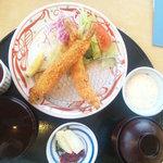 金沢なごみ亭 北都 - 海老フライ定食