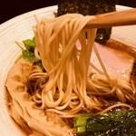 メンドコロ キナリ - 美しい麺線を描く!