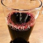 ピソラ - 赤ぶどうジュース…これは甘くなくてワイングラスで出されたら私は酔いそうです♡