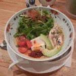 博多担々麺 とり田 - 冷し担々麺¥890