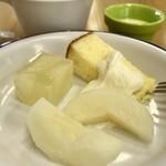 微笑みレストラン 大国亭 - ランチバイキング(\1,280) デザート盛り付け例