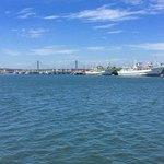 浜めし - 店の隣は銚子魚市場で、裏は漁港というロケーションです。