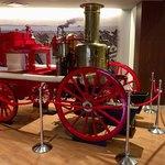 浜めし - 【観光情報】明治41年にヤマサ醤油さんに導入された「蒸気ポンプ消防車」。石炭や薪が動力源です。