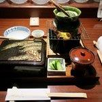 いせもん本店 - 「松阪牛レアステーキ重」(1800円)