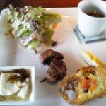 ENZO - 料理写真:ランチセットの前菜