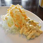 エイプリルエイト - セットのサラダ