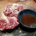 和牛・焼肉・食べ放題 肉屋の台所 川崎ミート - ハラミステーキ