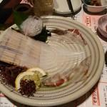 Seimonbarai - 唐津、呼子産やりいか刺
