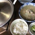 栄食堂 - ★★★☆ たら汁  お鍋で出てきます