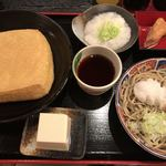谷口屋 - ★★★☆ 越前そばと油揚げ1枚定食