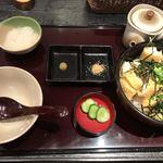谷口屋 - ★★★☆ 油揚げ丼 最後には出汁茶漬けにして
