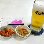 エチゴヤ - 生ビールセット