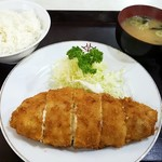 エチゴヤ - ポテトサラダ入りとんかつ:720円