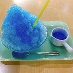 チモトコーヒー - ブルーハワイかき氷❤︎