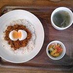 ブックカフェ 羊の散歩堂 - キーマカレー:780円(税込)【2018年8月撮影】