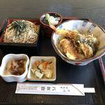 八郎治 - 料理写真:天丼セット 850外