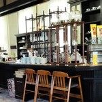 自由亭喫茶室 - 内観