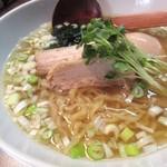 麺屋げんぞう  - スープと麺感