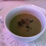 レストラン エピファニー - 温かいセロリのスープ