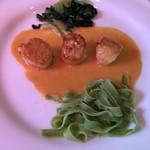 レストラン エピファニー - 帆立貝のアメリケーヌソース