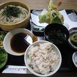 食彩家 こずみ - 天ざる定食