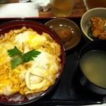 鶏三和 - 名古屋コーチン+塩唐揚げ¥60