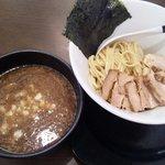 自家製麺ばくばく - 【2011/8】チャーシューつけ麺(1050円)